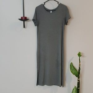 🏵🏵 Old Navy Grey Tee Shirt Dress, Medium